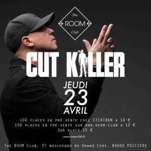 CUT KILLER Flyer back